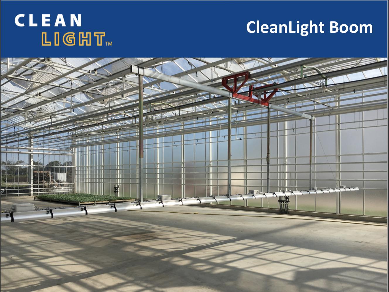 Productsheet CleanLight Boom